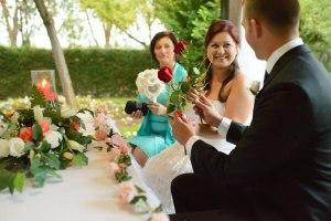 La ceremonia de las rosas