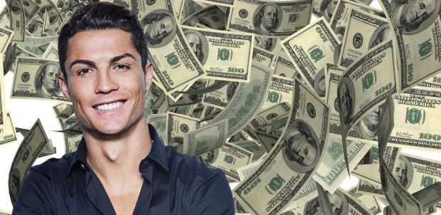 money cr7 - jersey bola