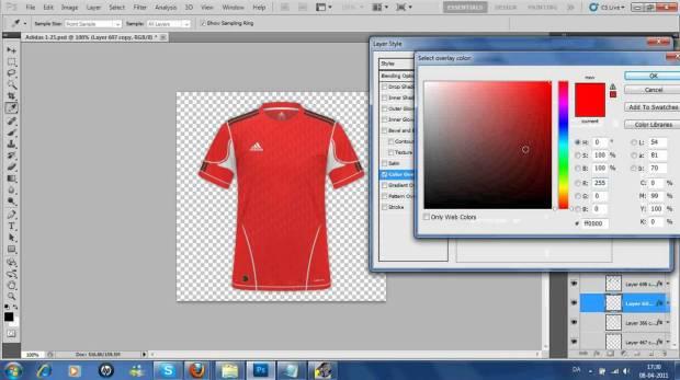 bikin desain jersey potoshop-buat jersey futsal