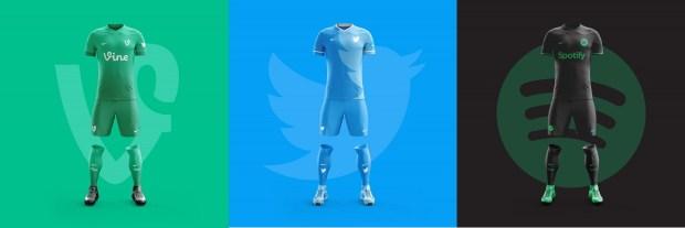 vine twitter spotify - buat jersey futsal