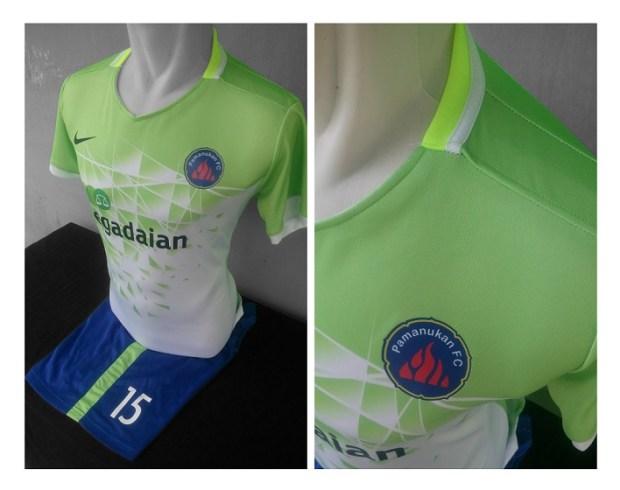 Jersey Hijau Pamanukan FC-buat jersey futsalJersey Hijau Pamanukan FC-buat jersey futsal
