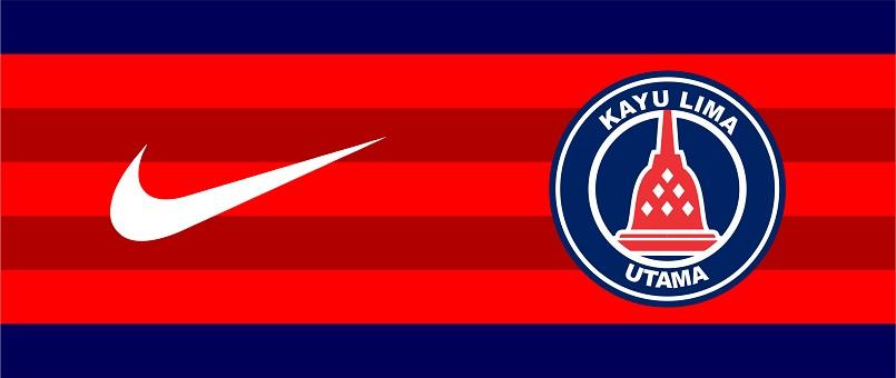 logo kayu lima utama-buat jersey futsal