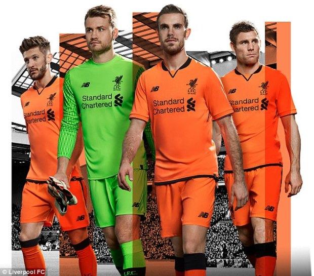 jersey liverpool orange-buat jersey futsal