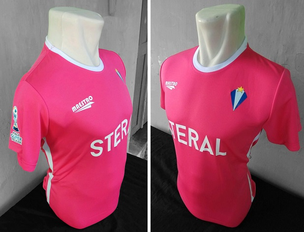jersey futsal steral FC-buat jersey futsal desain sendiri