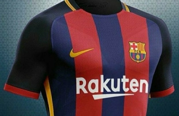 desain baju bola terbaik barcelona