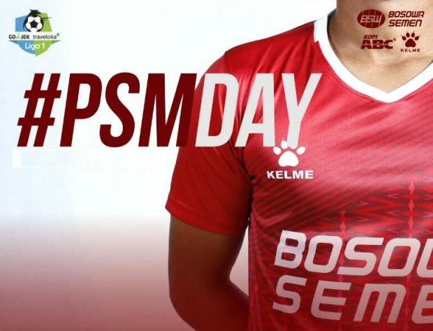 jersey sepak bola PSM Makassar