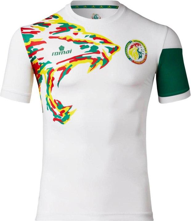Desain Baju Bola Terbaik Dari Senegal