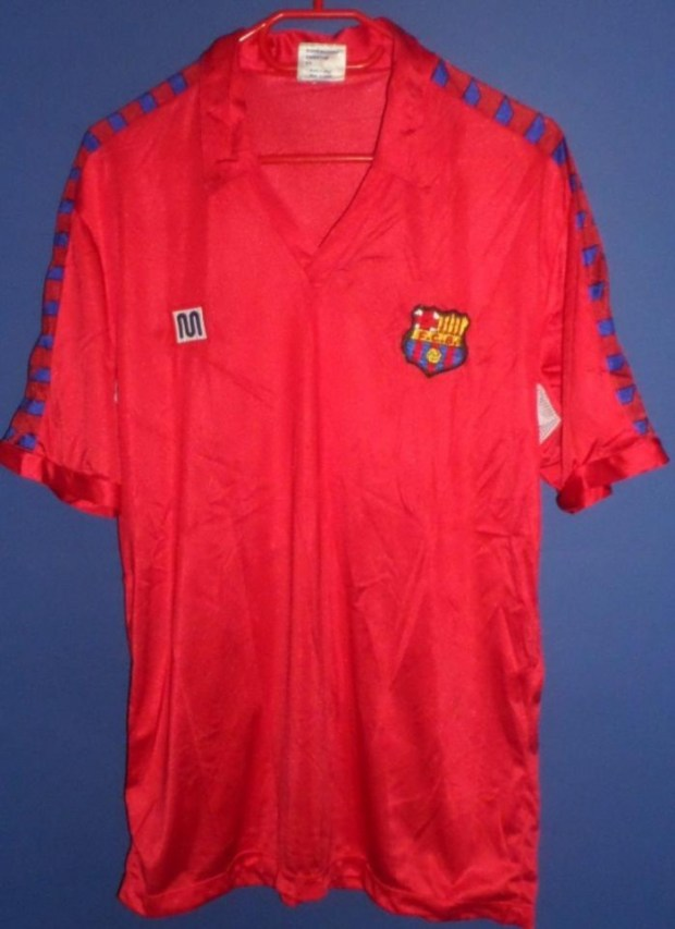 Jersey Barcelona di UEFA cup
