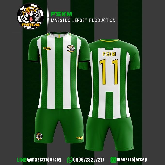 Desain Jersey Bola PSKM FC
