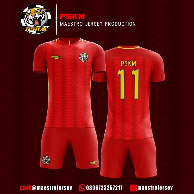 Desain Jersey Futsal PSKM FC