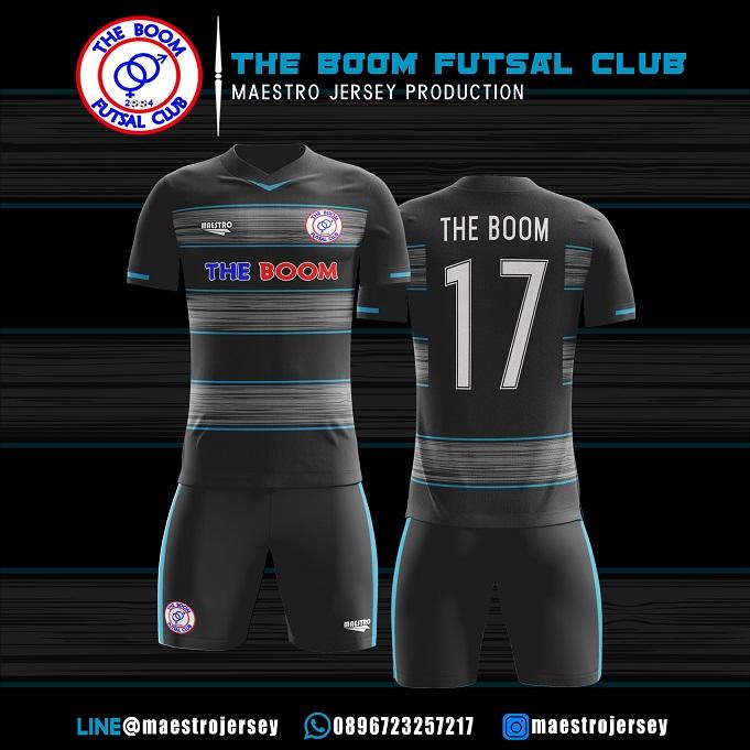 Desain Jersey Futsal The Boom FC