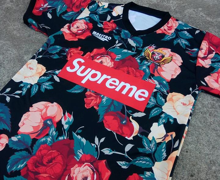 jersey printing motif bunga