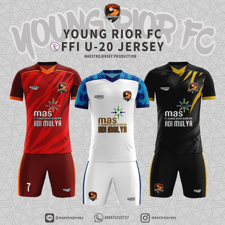 desain jersey young rior fc