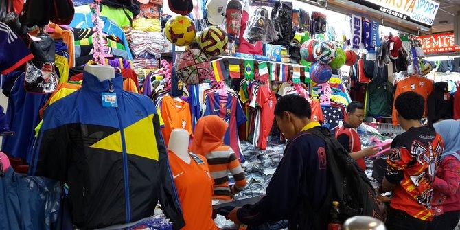 toko baju futsal di pasar tanah abang
