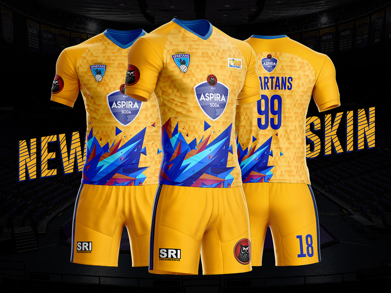 jersey volly printing