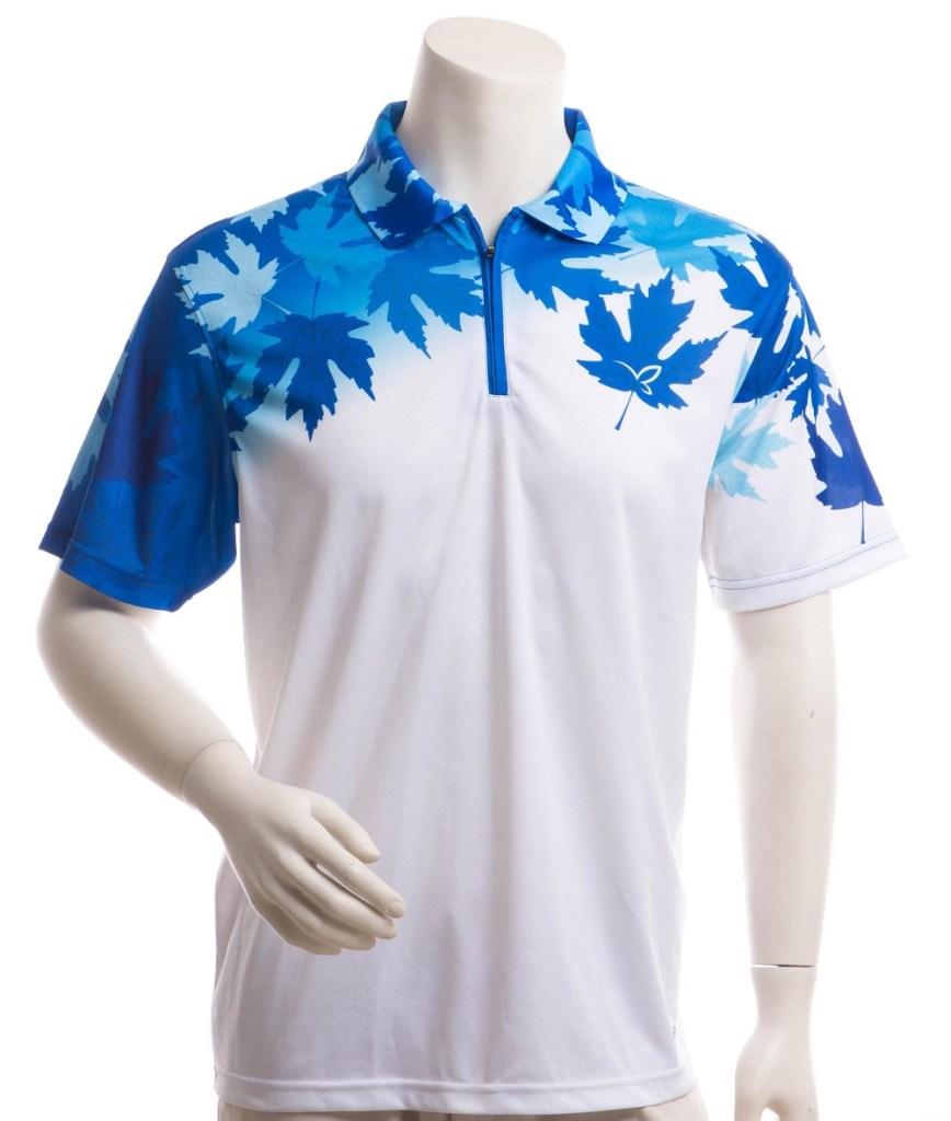 baju badminton berkerah