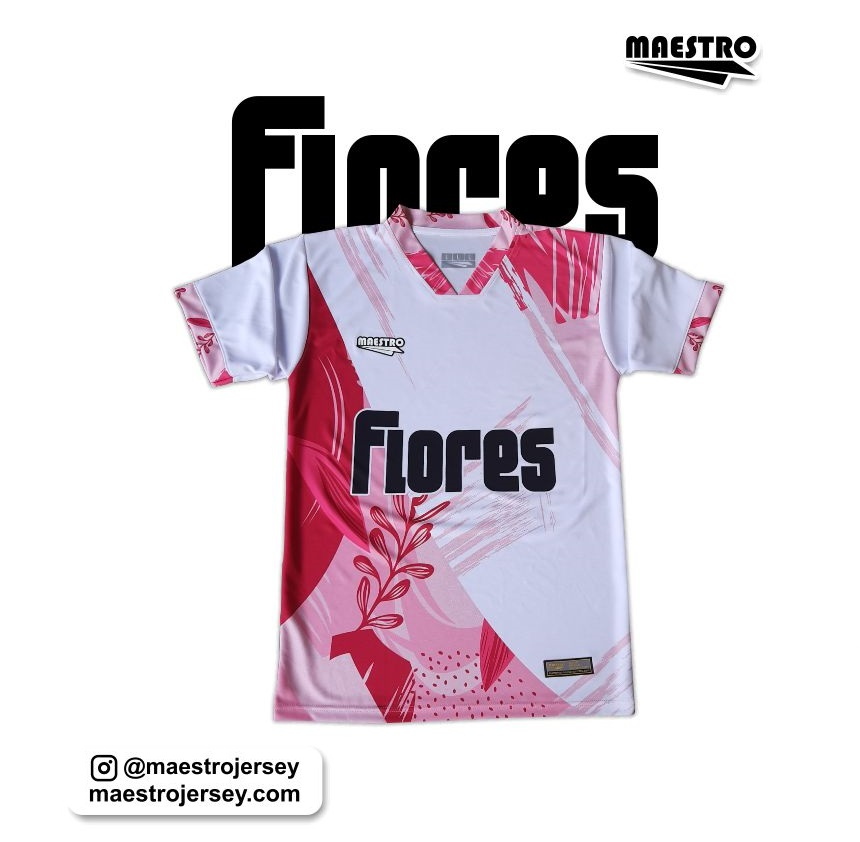jersey futsal printing flores edition