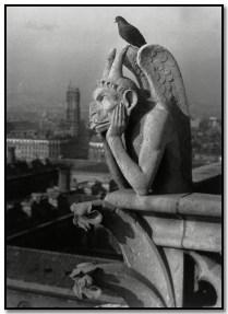 Brassai 316 Gárgola de Notre Dame