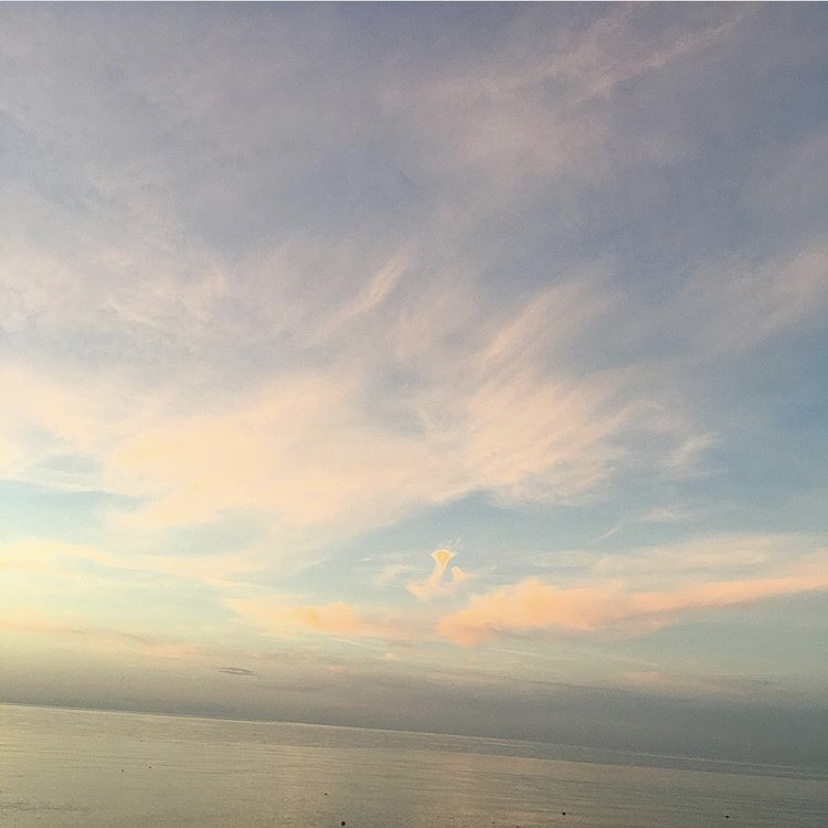 красивое балтийское море в зеленоградске
