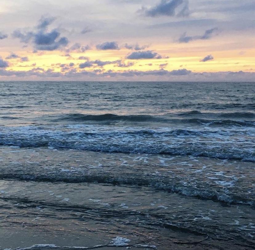 морской пейзаж в зеленоградске на балтийском море