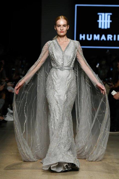 Humariff вечерние платья на показе mercedes benz fashion week russia 2019