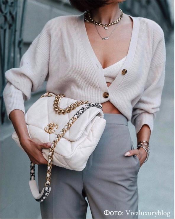 модная стеганая сумка