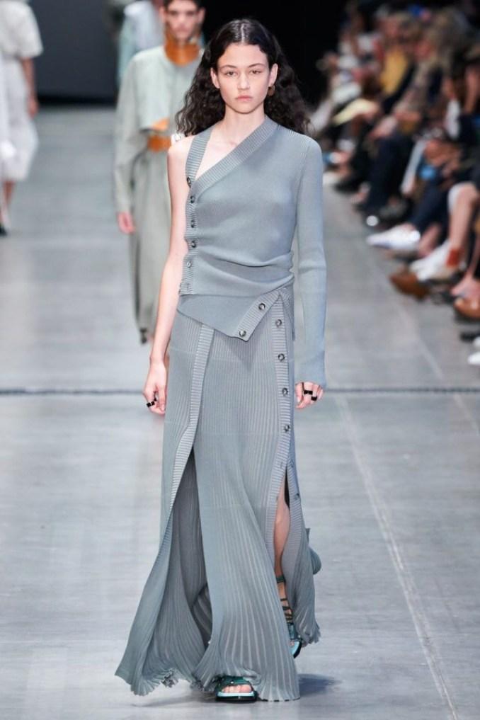 модные ассиметричные платья