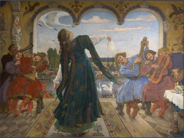 Выставки в Москве в февраля 2020. В.М. Васнецов «Царевна- лягушка»