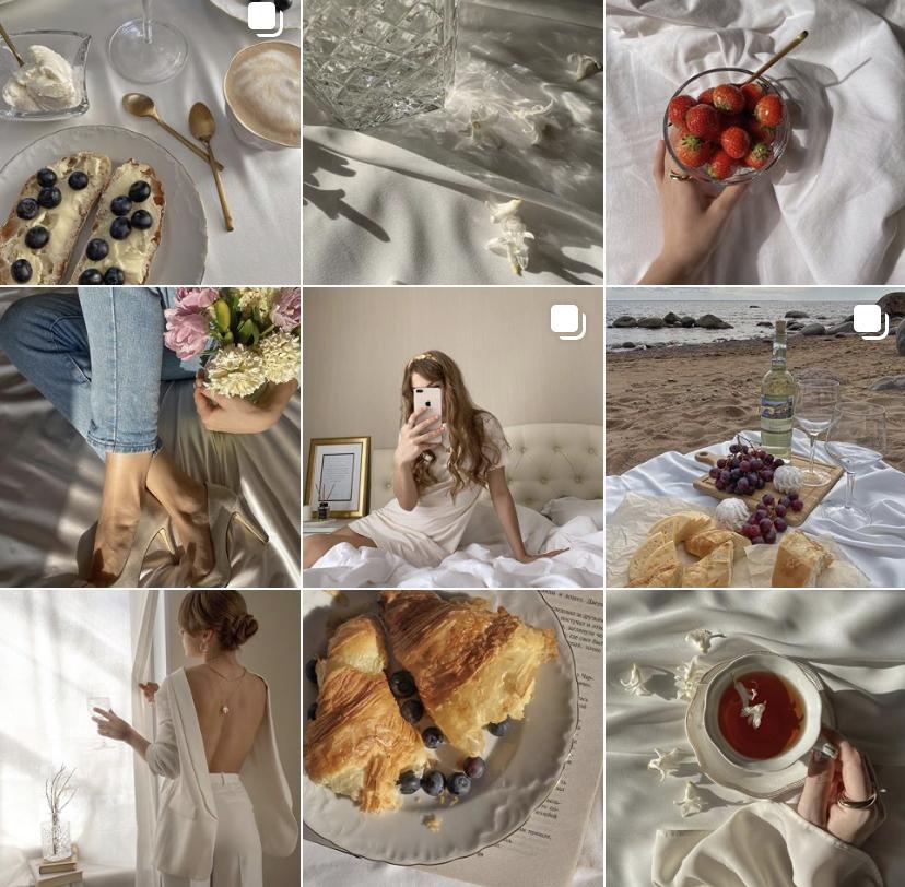 Instagram тренды лета 2020 единый стиль профиля