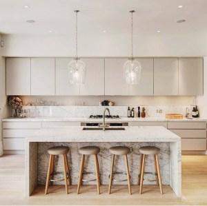 тренд минималистические кухни