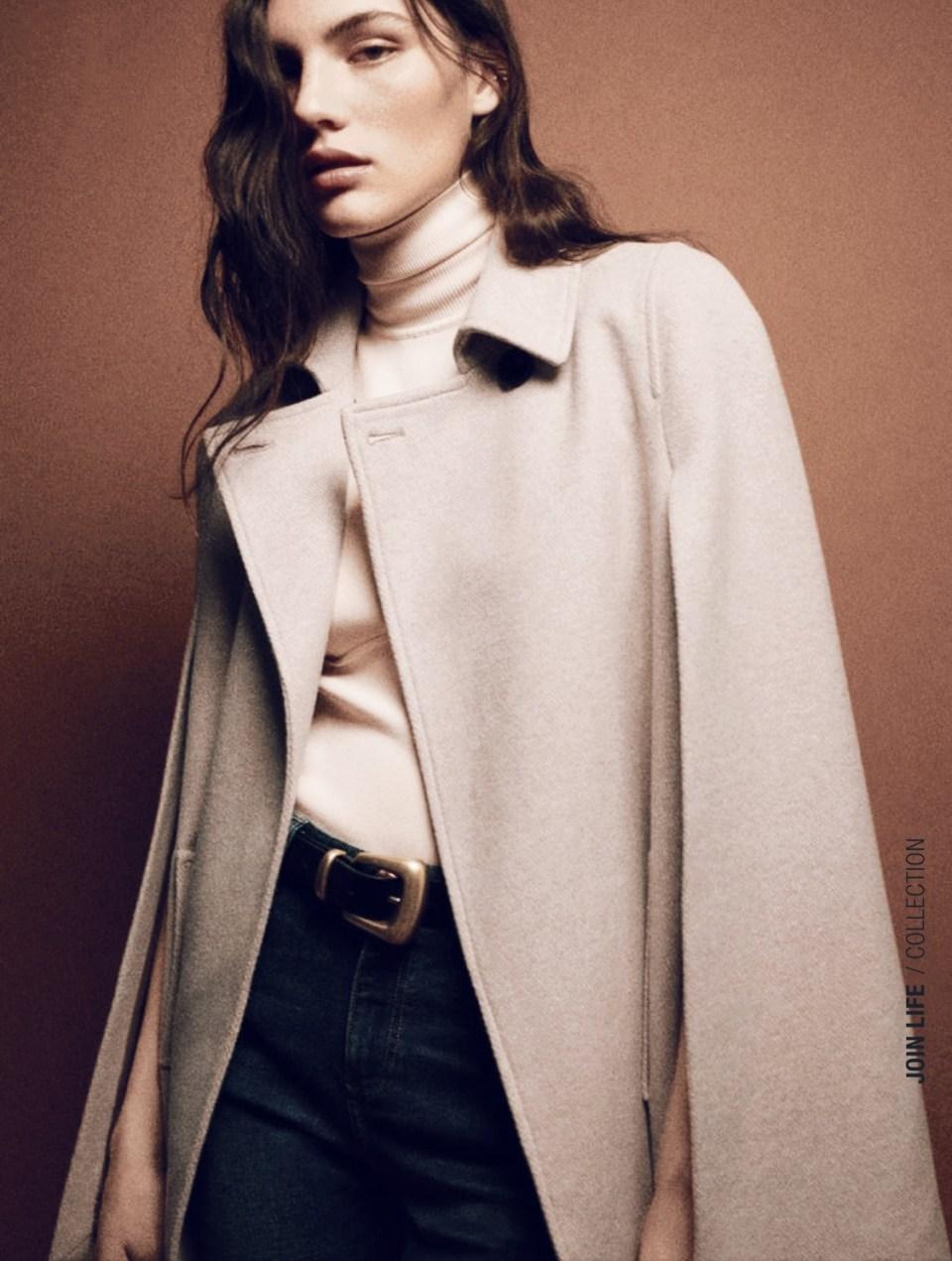 Пальто—кейп Zara
