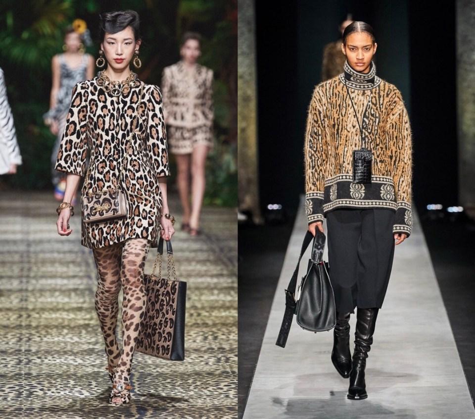 леопардовый принт модный тренд осень зима 2020 2021