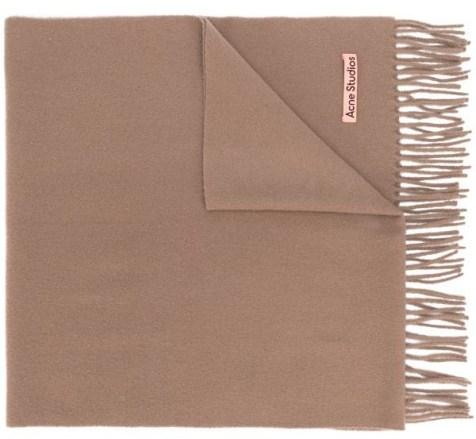 новогодний подарок бежевый шарф