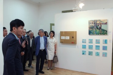 Installation view, LVS Gallery
