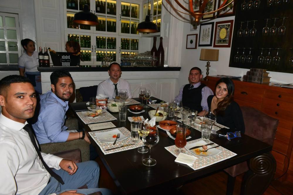 Austen Morris Associates Private Dinner at Las Flores (4/6)