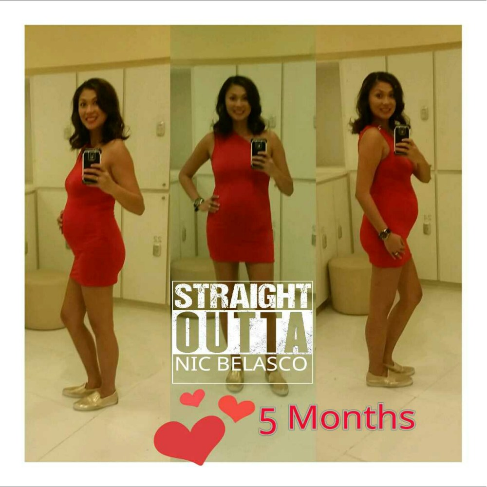Half way there... 5 months Pregnant (1/4)