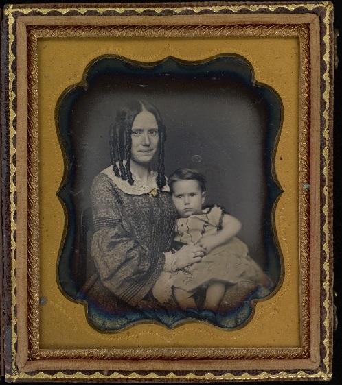 Schizophrénie - Mère et enfant par David N. Preston - mafamilledeouf.com