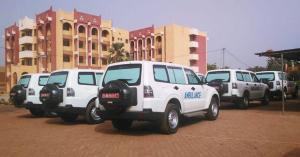 Ambulance-don de la banque mondiale