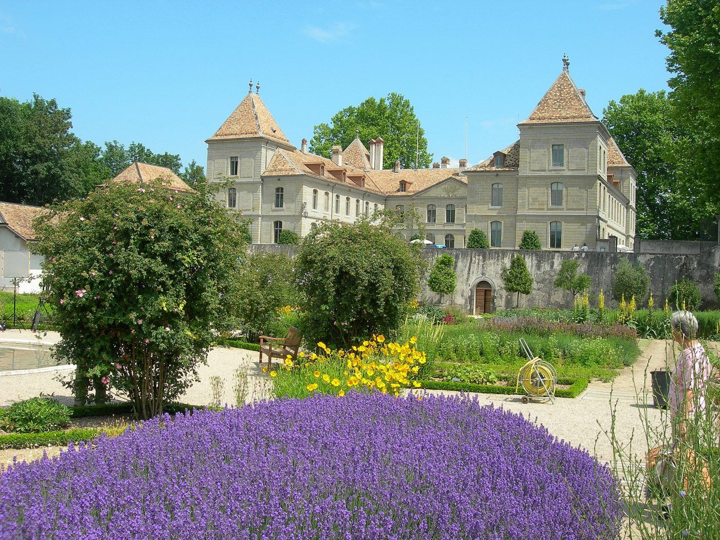 Château de Prangins - Ma famille rigole