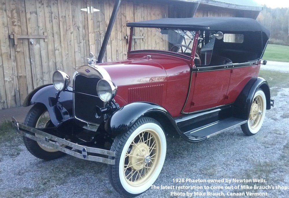 medium resolution of 1928 phaeton owned by newton wells the latest restoration to come out of mike brauch s shop in canaan vermont mike writes