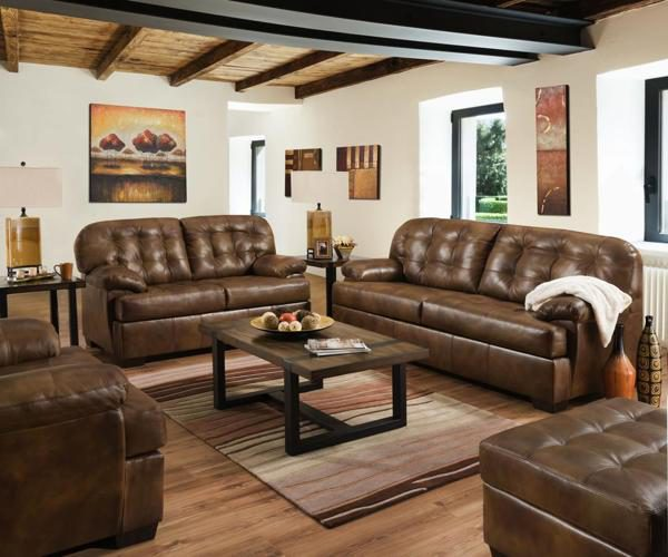 lane furniture soft touch chaps leather 2037 sofa and loveseat set