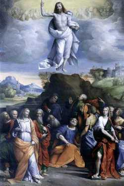 Garofalo, Ascension du Christ, 1510-1520. Galerie Nationale d'Art Antique, Rome.