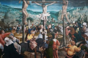 crucifixion - 1501 - 1505 Jan provost 1462 - 1529