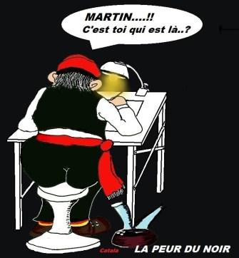 Martin - LA PEUR DU NOIR