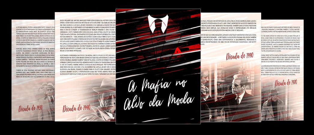 A mafia no alvo da moda