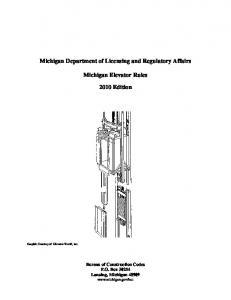 Schindler 330A® Hydraulic elevator installation checklist
