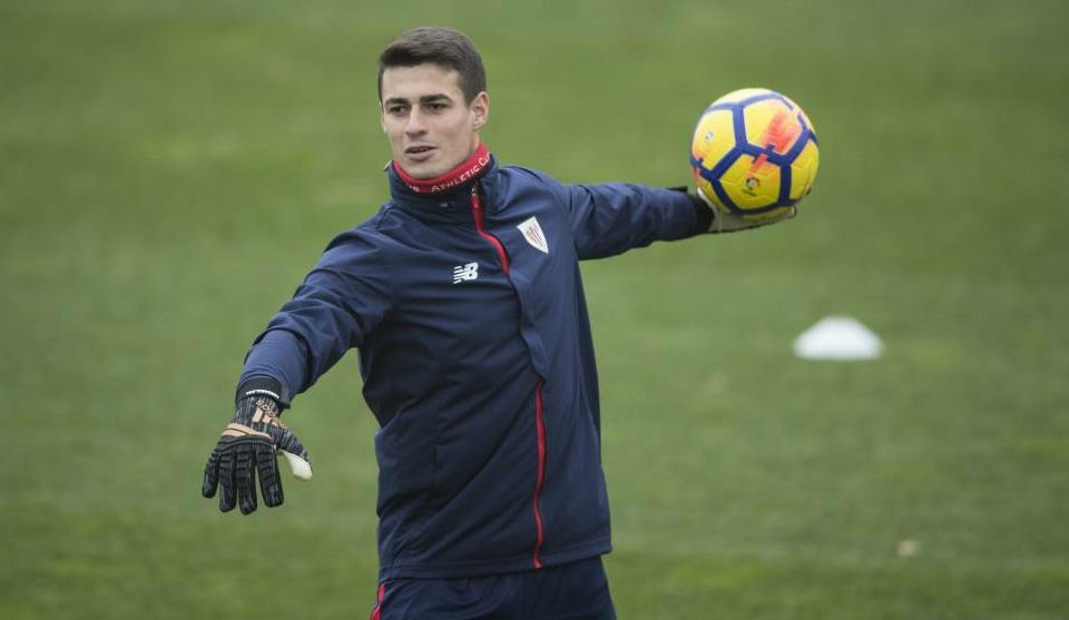 Kepa no Athletic (foto: Íñigo Larreina)