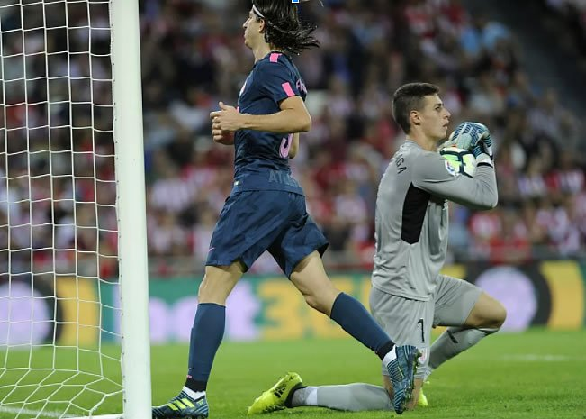 Kepa Arrizabalaga, goleiro do Athletic Bilbao (Foto: AFP)