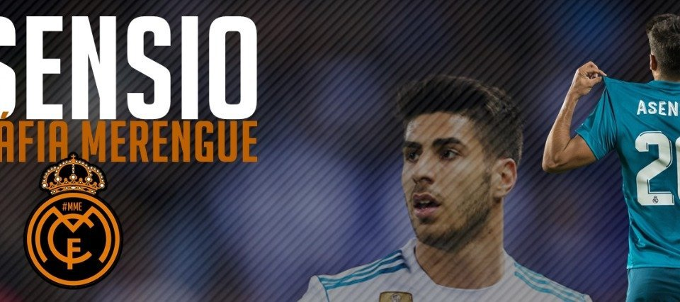 Marco Asensio no Real Madrid