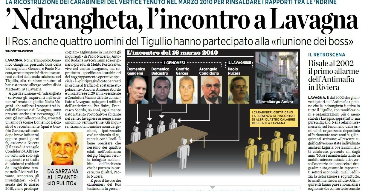 Ancora Paolo Nucera: il pm Lari chiede 12 anni